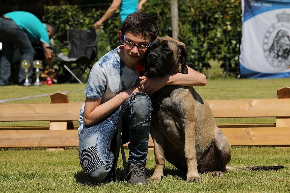 Qhavana Jacpas Que Du Bonheur winnaar teven puppy